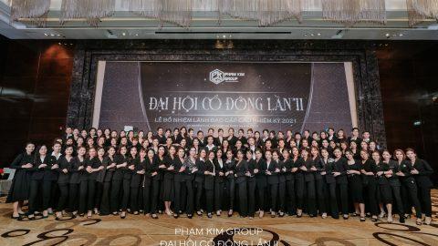 Phạm Kim Group tổ chức thành công Đại hội cổ đôi lần II